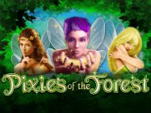 Открыть на веб-сайте секреты автомата Pixies Of The Forest