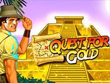 Виртуальный игровой слот с Джокером и бонусом - Quest For Gold
